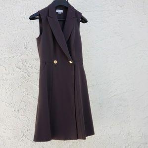 Calvin Klein sleeveless blazer dress